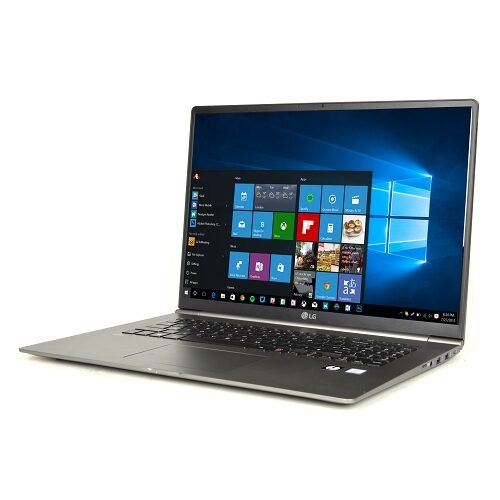 "Used LG gram 17"" Ultra-Lightweight Laptop Core i7-8565U Quad-Core 1.8GHz 16GB 256GB SSD 17.0"" WQXGA IPS W10H"
