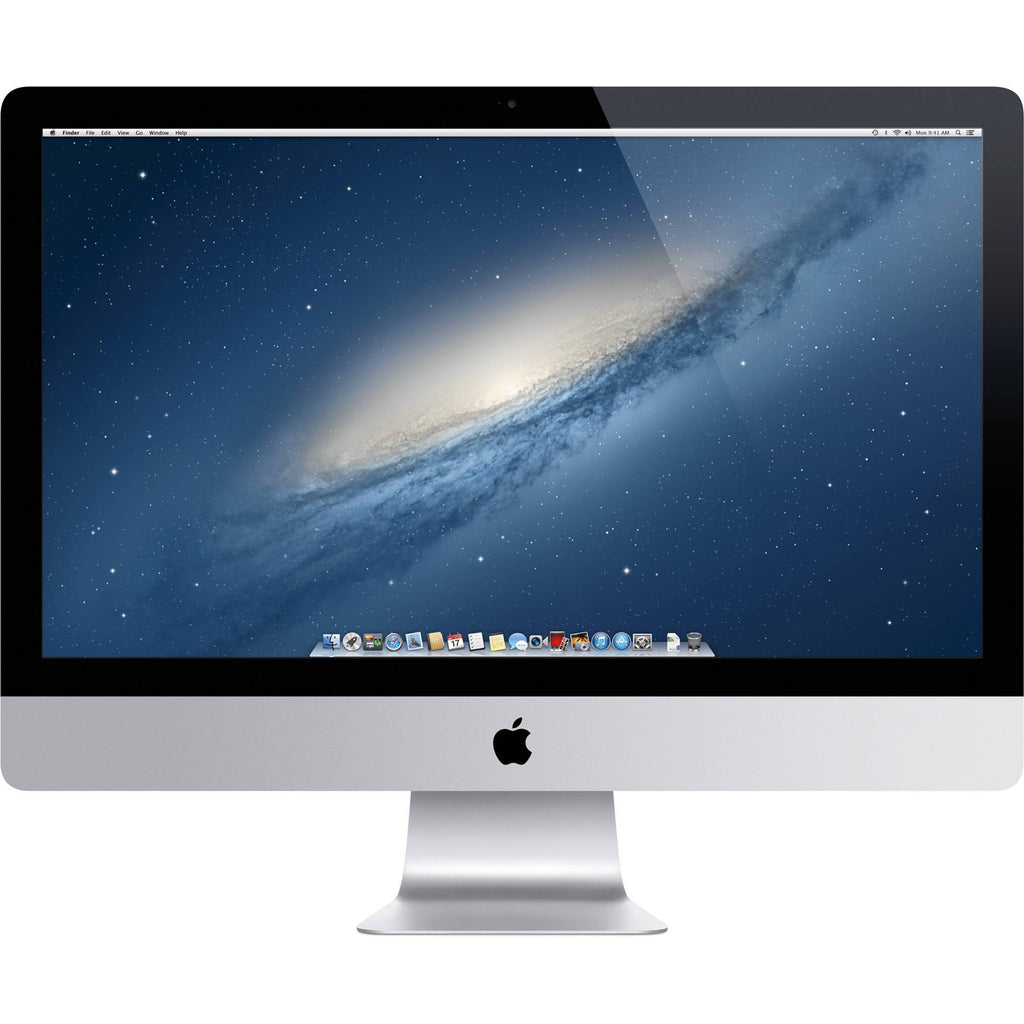 "Used Apple iMac 27"" MD096LLA Core i7-3770 Quad-Core 3.4GHz All-in-One Computer 8GB 3TB+128GB Fusion SSD GTX 675MX/OSX (Late 2012)"