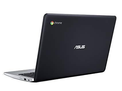 ASUS C200MA-DS01 Celeron N2830 Dual-Core 2.16GHz 8GB 16GB SSD 11.6 LED Chromebook Chrome OS w/Webcam Warranty 90 days