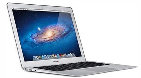 Used Apple MacBook Air  MC968LLA Core i5-2467M Dual-Core 1.6GHz 2GB 64GB SSD 11.6
