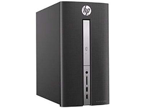 HP Pavilion 570-p056 Core i7-7700 Quad-Core 3.6GHz 12GB 1TB DVD±RW GeForce GT 730 W10H Desktop PC