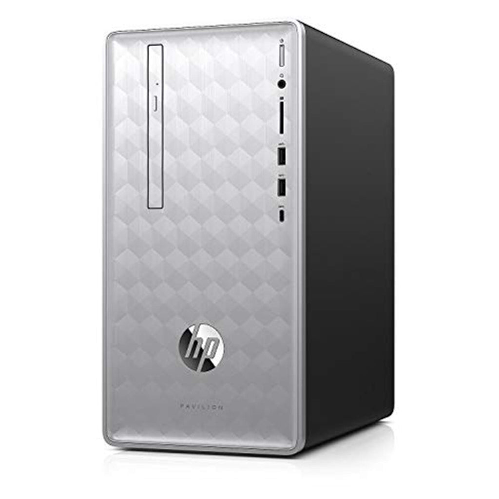 HP Pavilion 590-p0086 Core i7-8700 Six-Core 3.2GHz 8GB 1TB+16GB Optane DVD±RW W10H Desktop PC w/HDMI, BT & WiFi