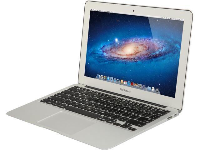 "Used Apple MacBook Air  MC968LLA Core i5-2467M Dual-Core 1.6GHz 2GB 64GB SSD 11.6"" Notebook w/Great Britain Keyboard (Mid 2011)"