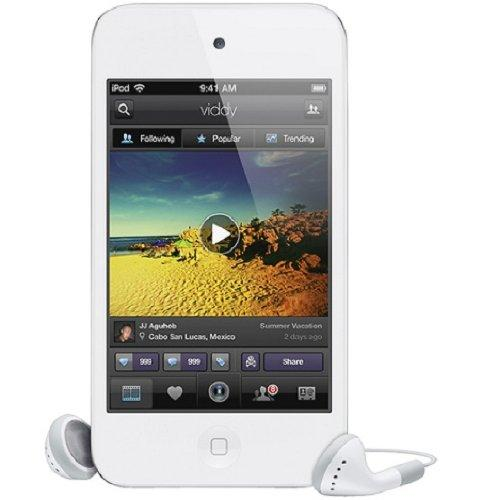Apple iPod touch 16GB ME179LLA White (4th generation)