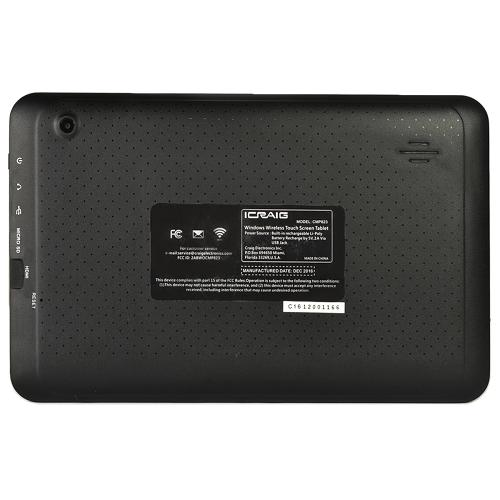 "Craig CMP823 Quad-Core 1.2GHz 512MB 8GB 9"" Touchscreen Tablet Android 6.0 w/Cams & BT (Black)"