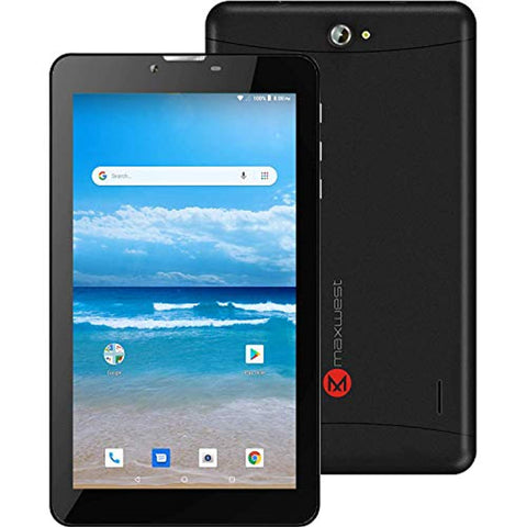 "Maxwest Nitro Phablet 9s 9"" Touch Unlocked Android Phone Quad Core 1GB 8GB - Black"