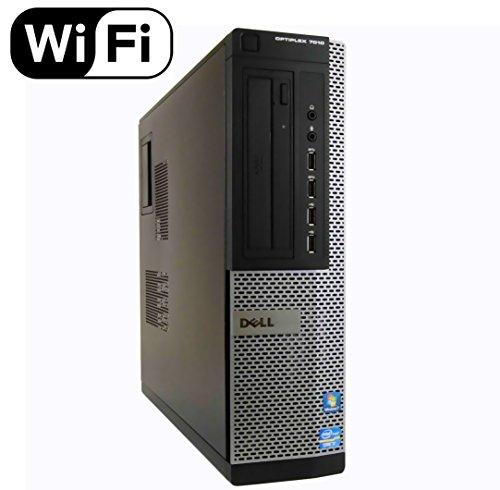Dell Optiplex 7010 Desktop Computer, Intel Quad-Core i7-3770 Up to 3.9GHz, 16GB RAM, 2TB 7200 RPM HDD, DVD, USB 3.0, WiFi, Windows 10 Pro