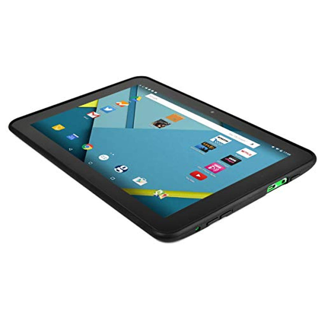 "Migros M-Budget 10.1"" Android Tablet Quad Core 1.34GHz 1GB 16GB Dual Cams BT - Green"