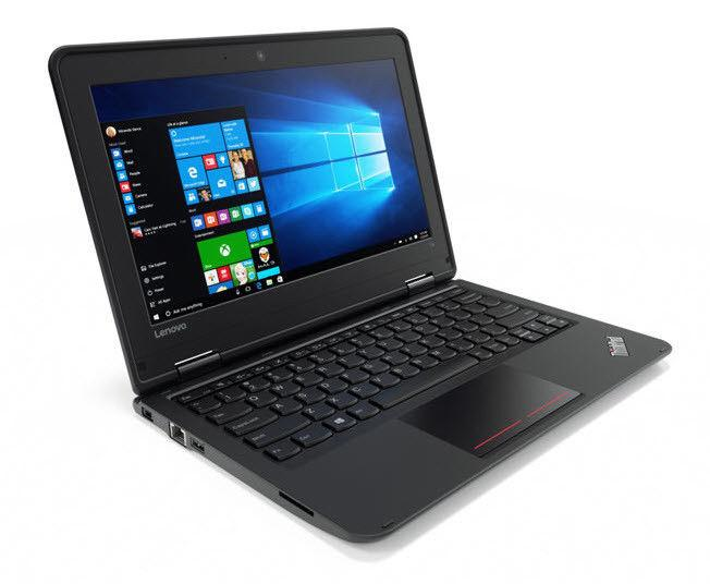 "Lenovo ThinkPad 11e G3 Core i3-6100U Dual-Core 2.3GHz 8GB 256GB SSD 11.6"" LED Notebook No OS w/Cam (Black)"