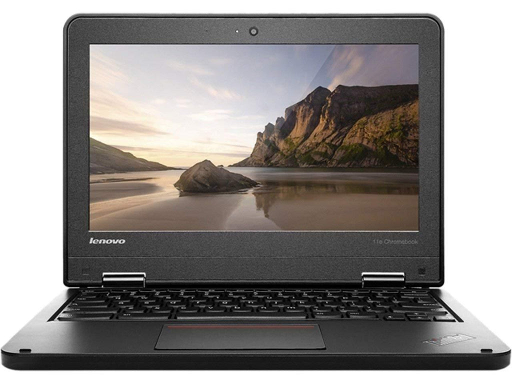 Lenovo ThinkPad 11e Celeron N2930 Quad-Core 1.83GHz 4GB 16GB eMMC 11.6 LED Chromebook Chrome OS w/Cam & BT (Black) EVTK-20DU0003US-PB-RCC