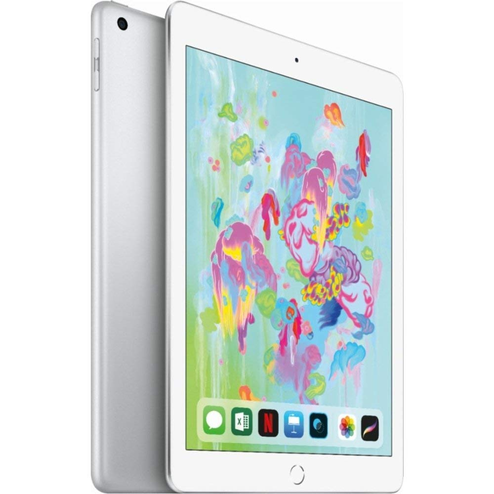 "Apple iPad 9.7"" 6th Generation WiFi + Cellular (32GB, Space Gray) (Refurbished)"