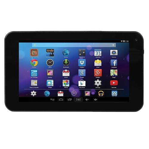 "Craig CMP771-BUNDLE Quad-Core 1.32GHz 512MB 8GB 7"" Touchscreen Tablet Android 4.4 w/Cams, BT, Case & Keyboard (Black)"