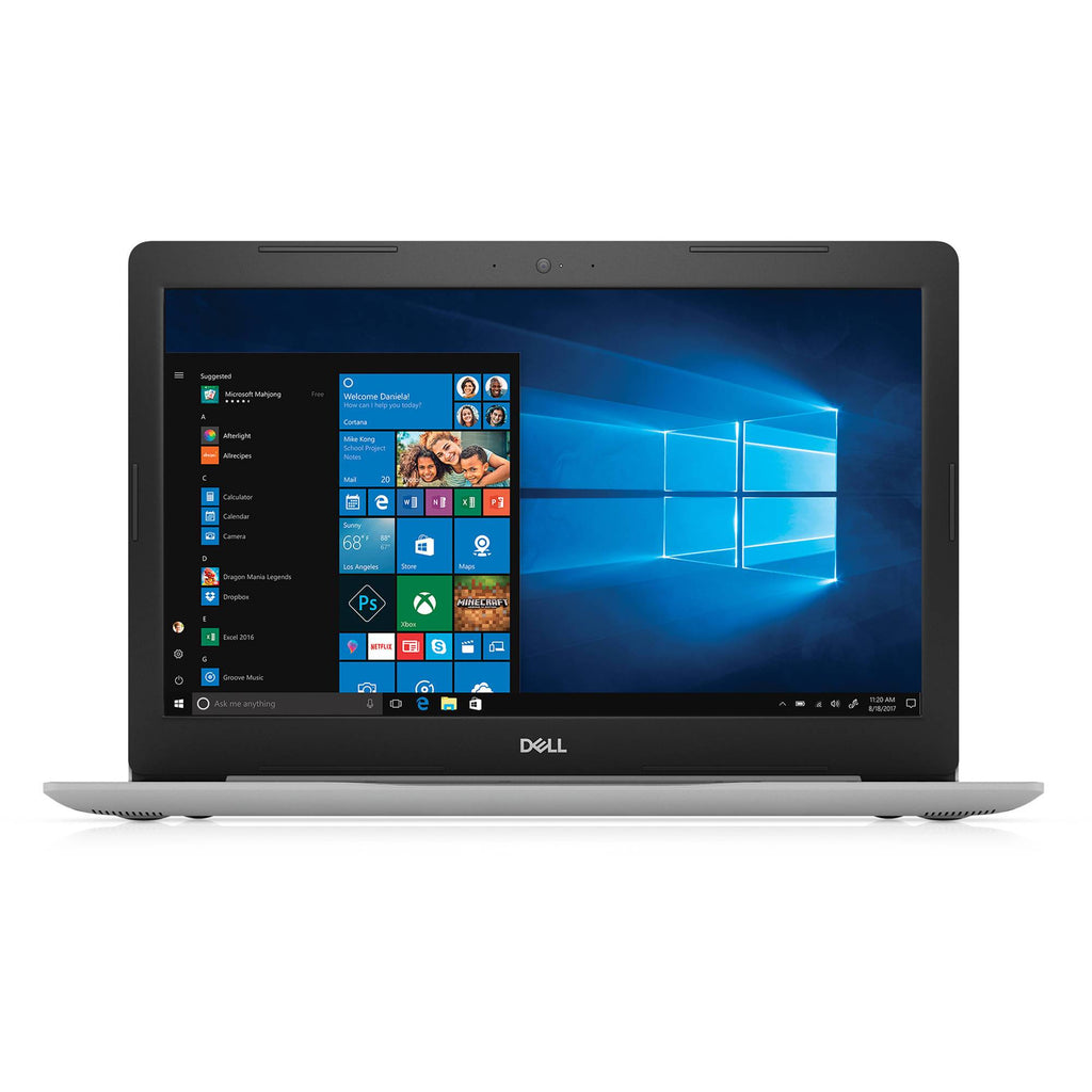 "Dell Inspiron 15 Core i5-7200U Dual-Core 2.5GHz 8GB 1TB DVD±RW 15.6"" Laptop W10H (Gray)"