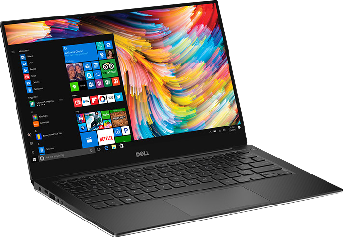 "Dell XPS 13 Core i7-7560U Dual-Core 2.4GHz 8GB 256GB M.2 13.3"" M.2  LED FHD Laptop W10H w/Cam & Fingerprint Reader"