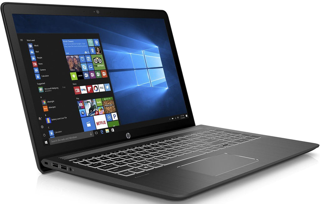 "HP Pavilion Power 15-cb071nr Core i7-7700HQ Quad-Core 2.8GHz 12GB 1TB Radeon RX 550 15.6"" IPS Notebook Window 10"