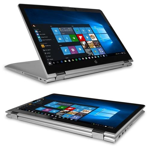 "HP Pavilion x360 15-br052od Touchscreen Core i5-7200U Dual-Core 2.5GHz 8GB 1TB 15.6"" WLED Convertible Notebook W10H"