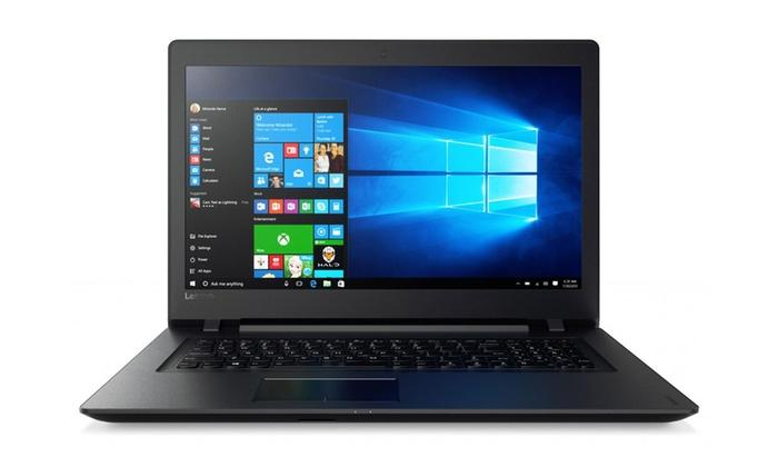 "Lenovo Ideapad 110-17IKB Core i5-7200U Dual-Core 2.5GHz 6GB 1TB DVD±RW 17.3"" HD+ Notebook W10H"