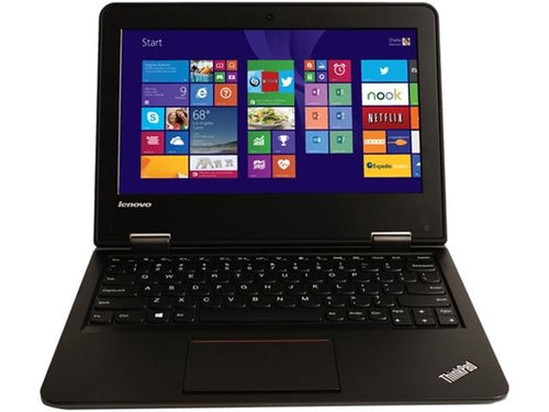 Used Lenovo ThinkPad 11e Celeron N2940 Quad-Core 1.83GHz 4GB 16GB eMMC 11.6 LED Chromebook