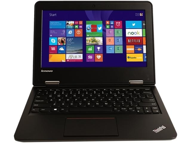 Used Lenovo ThinkPad 11e Celeron N2940 Quad-Core 1.83GHz 8GB 16GB eMMC 11.6 LED Chromebook