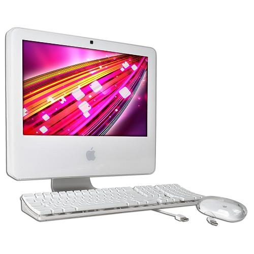 "Apple iMac 17"" Core Duo T2400 1.83GHz All-in-One Computer - 1GB 160GB DVD±RW Radeon X1600/OSX (Early 2006) - B"