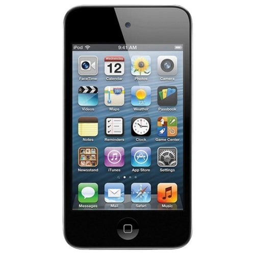 Apple iPod touch 4th Generation 8GB Wi-Fi Digital Music/Video Player w/3.5 LCD Touchscreen & Dual Cameras (Black)