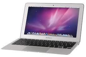 Used Apple MacBook Air MC966LLA Core i7-2677M Dual-Core 1.8GHz 4GB 256GB SSD 13.3