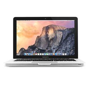 Used like New Apple MacBook Pro MD313LLA Core i5-2435M Dual-Core 2.4GHz 8GB 500GB DVDRW 13.3 Notebook OS X w/Cam & BT (Late 2011)
