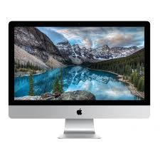 "Used Apple iMac Retina 5K 27"" MK462LLA Core i5-6500 Quad-Core 3.2GHz All-in-One Computer - 8GB 1TB Radeon R9 M380/OSX (Late 2015)"
