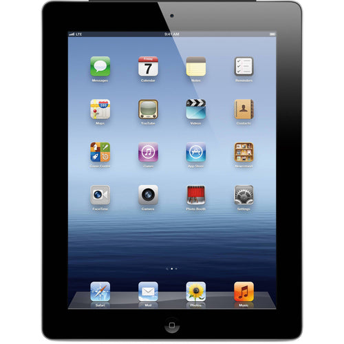Apple iPad with Wi-Fi + Cellular 64GB Retina Multi-Touch Tablet - Black - AT&T (3rd generation)