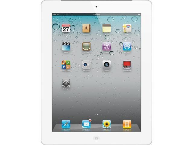 "Apple iPad with Wi-Fi + Cellular 64GB - White Retina Multi-Touch 9.7""- AT&T (3rd generation)"