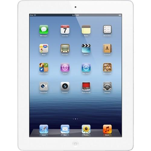 Apple iPad with Wi-Fi + Cellular 64GB - White Retina Multi-Touch 9.7