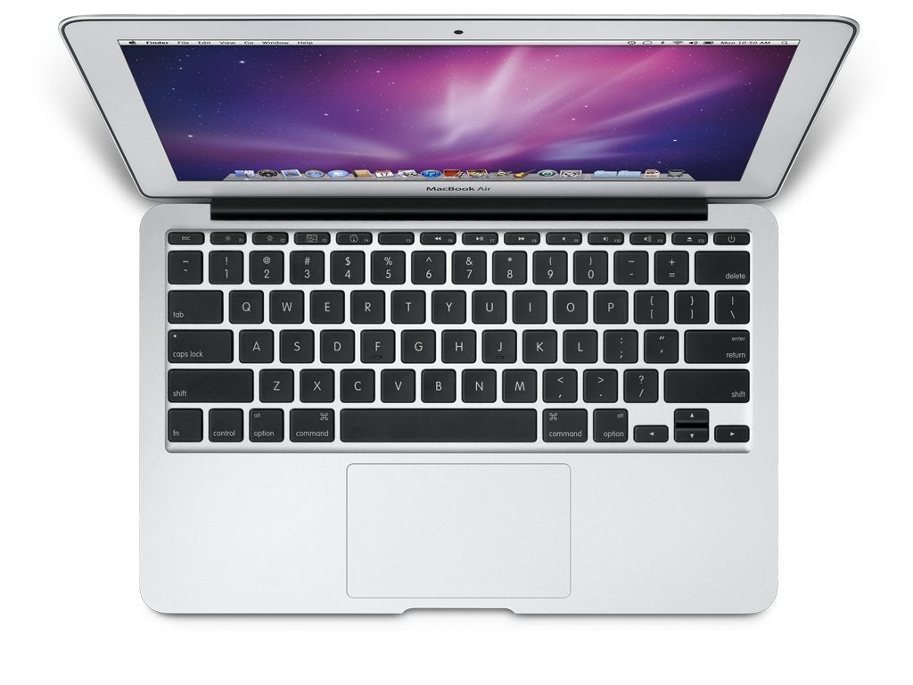 "Used Apple MacBook Air MC505LLA Core 2 Duo SU9400 1.4GHz 4GB 128GB SSD 11.6"" w/Taiwanese Keyboard (Late 2010)"