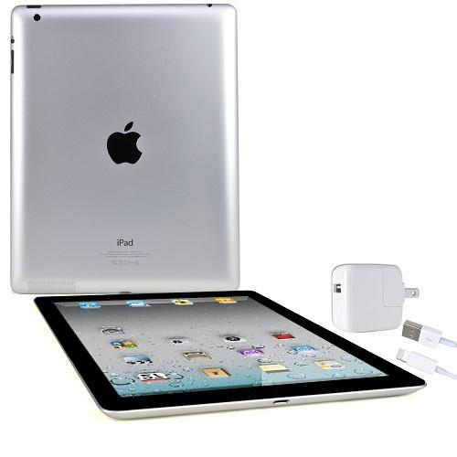 Apple iPad Model A1458 with Retina Display Wi-Fi 16GB - Black (4th generation)