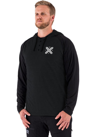 FXR Men's Authentic Lite Tech PO Hoodie