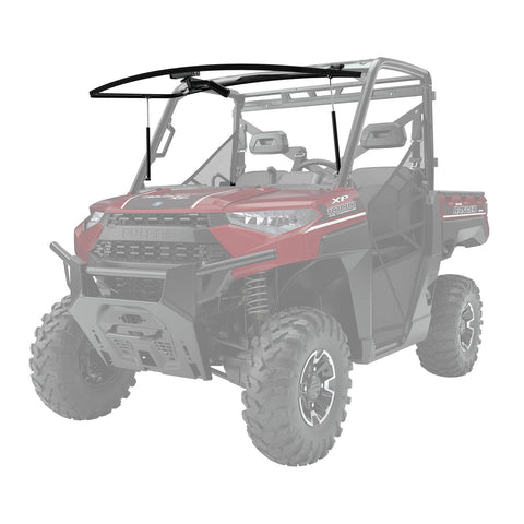 Polaris Lock & Ride Full Tip-Out Glass Windshield