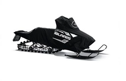 Switchback Snowmobile Pro-Ride w/ Rack Cover- Blk
