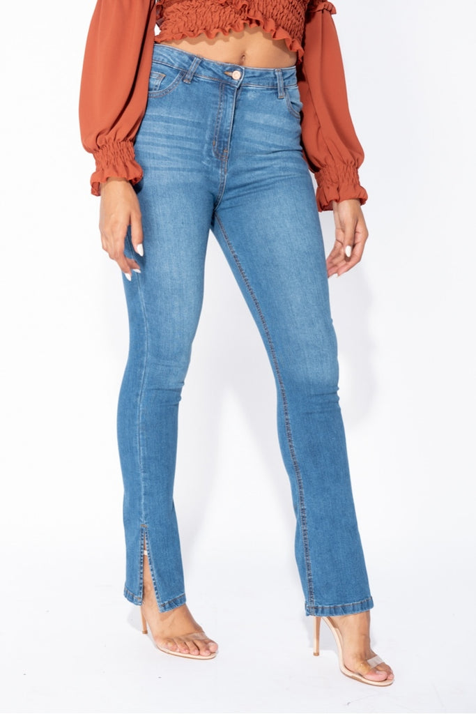 Jerrica Jeans - Medium Wash