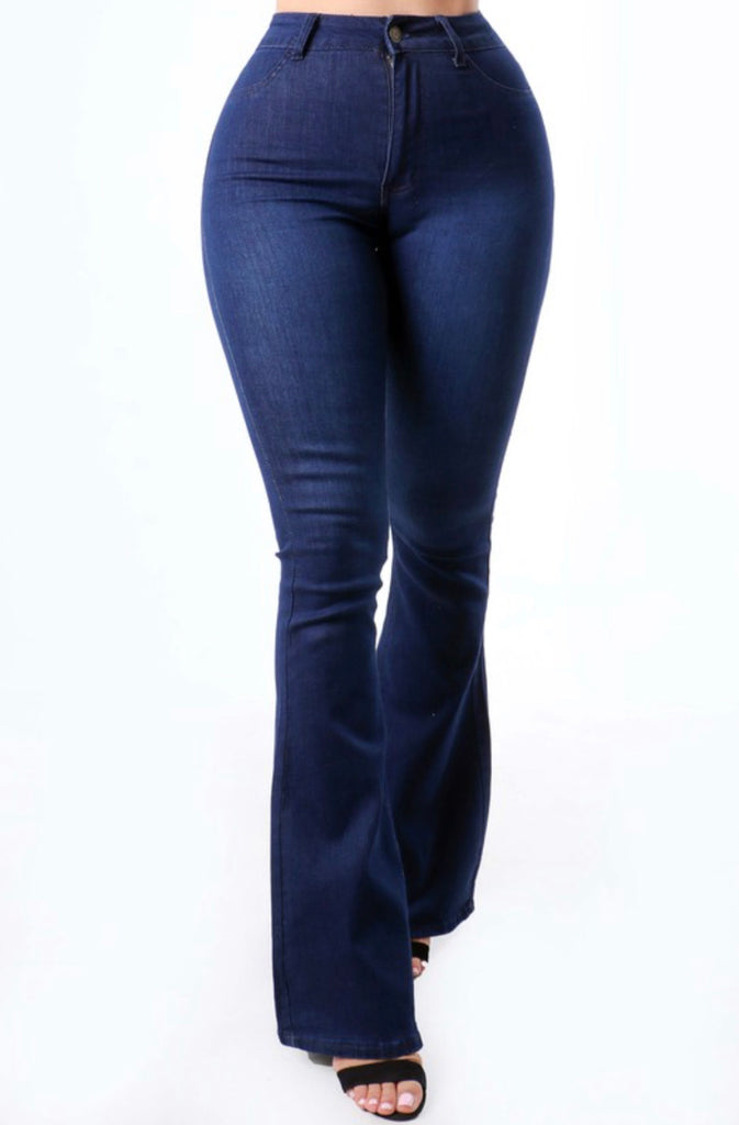Elvia Jeans - Dark Wash