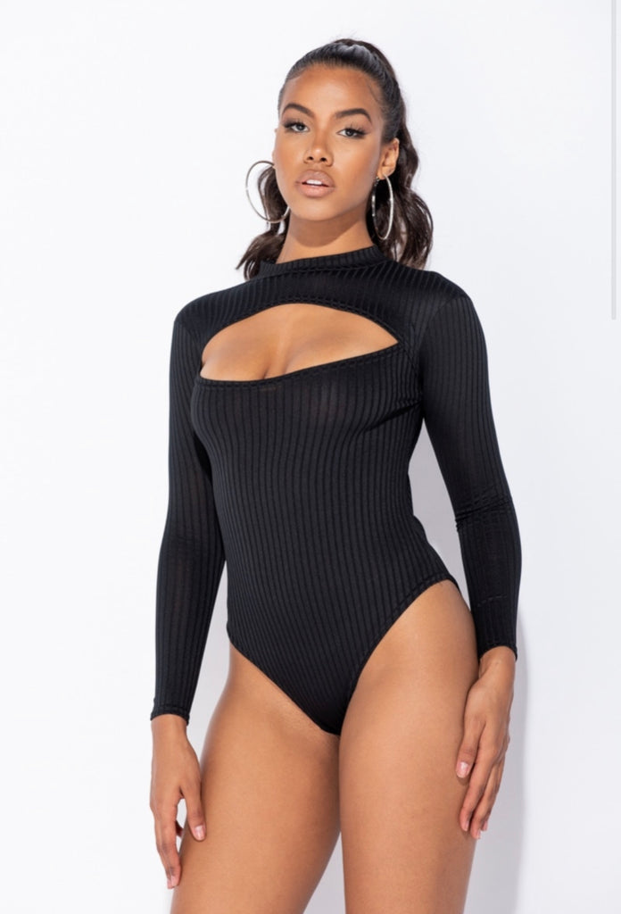 Hailee Bodysuit - Black