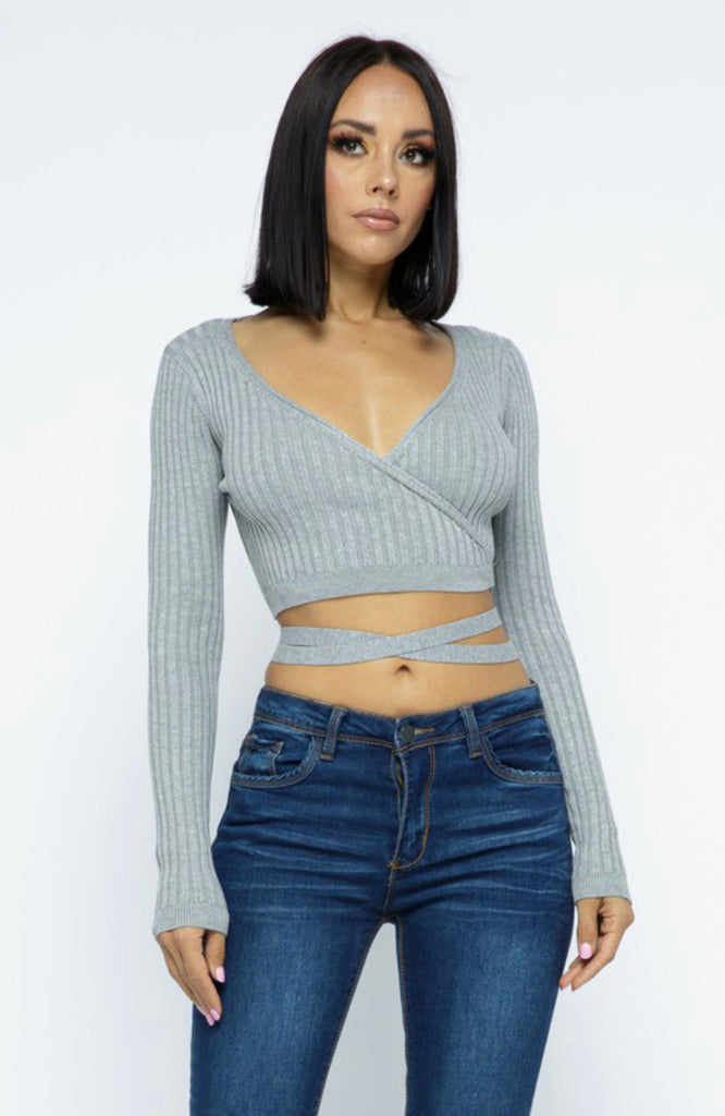 Ariyah Top - Grey