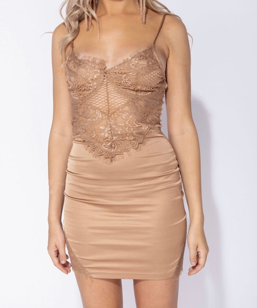 Chantal Dress - Champagne