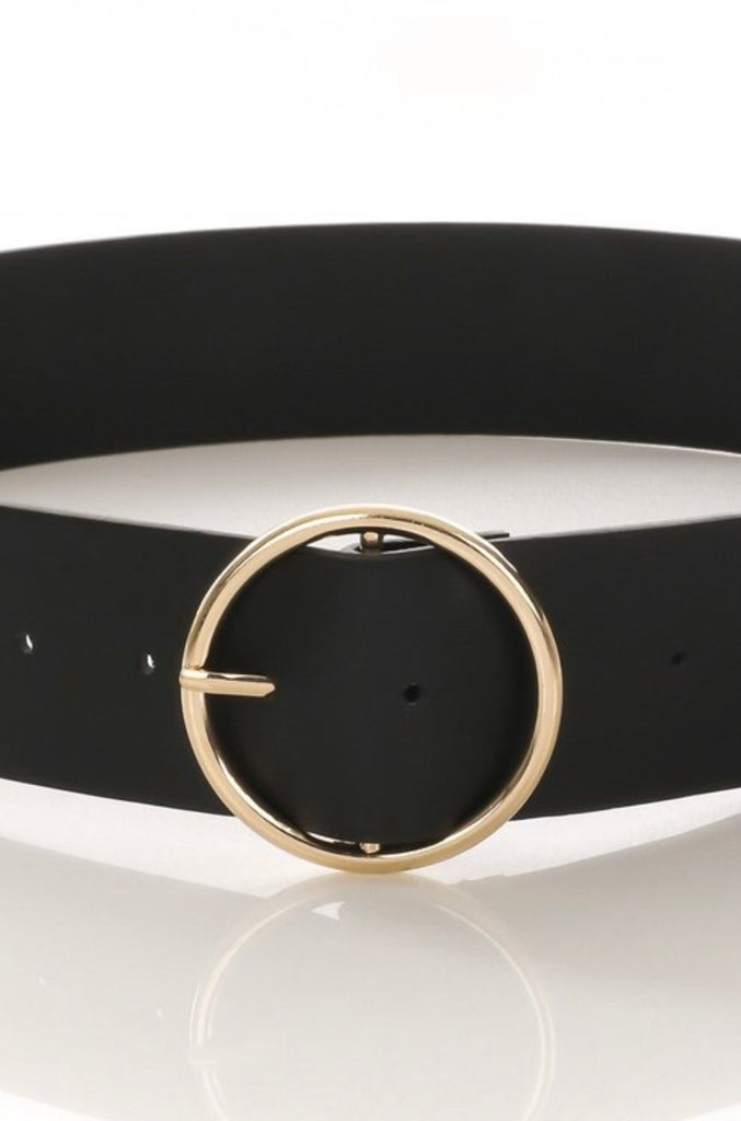Mamacita Belt - Black/Gold