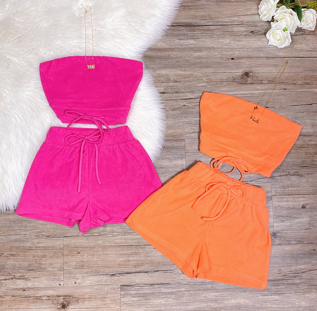 Cutie Pie Set - Orange