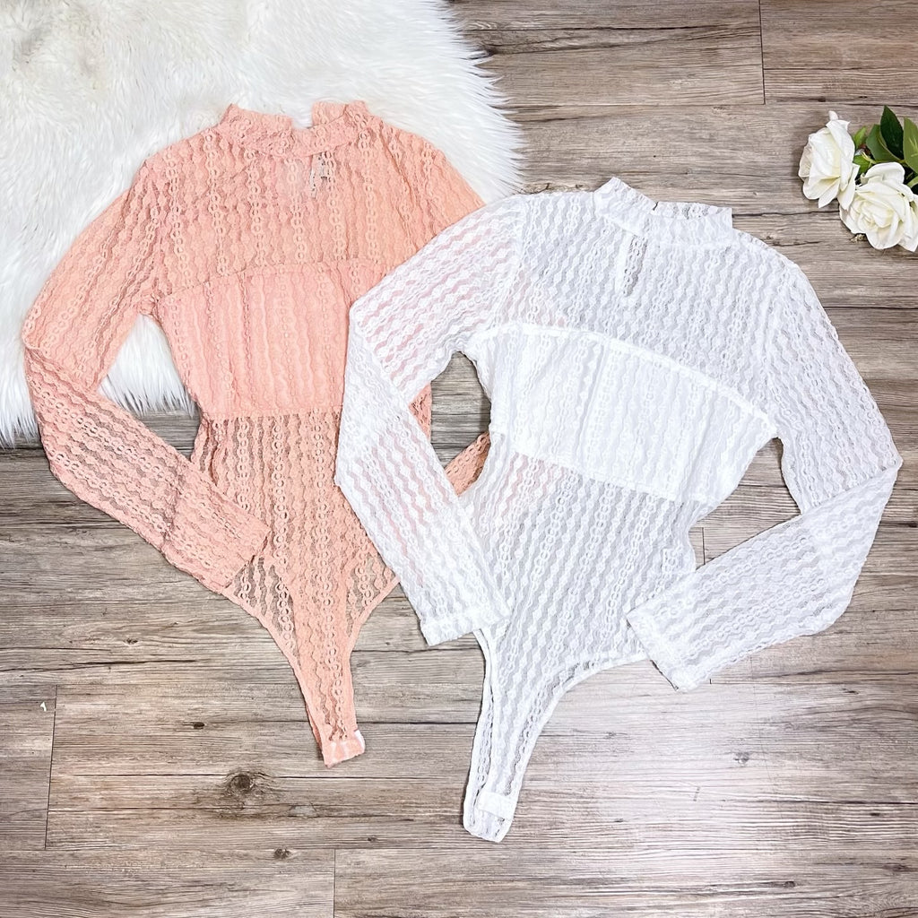Janely Bodysuit - Blush