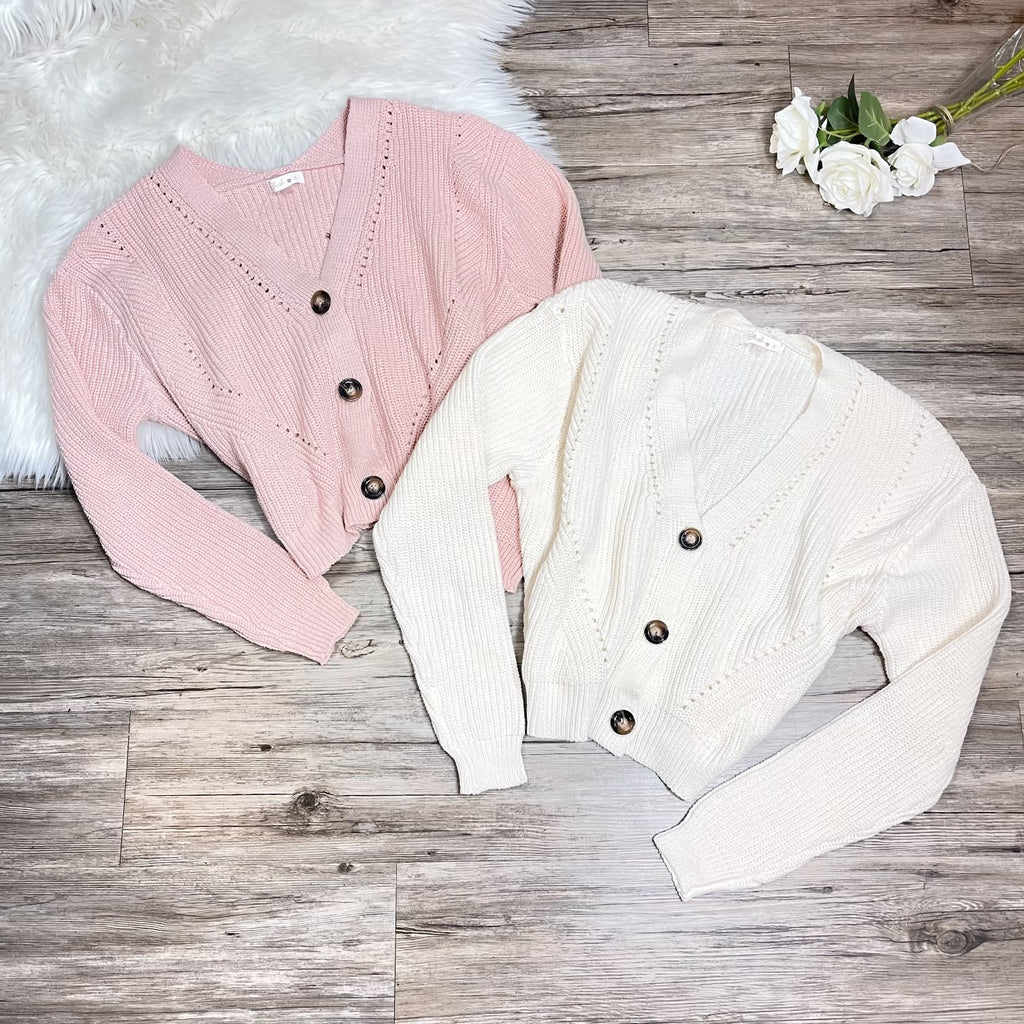 Danali Cardigan - Blush