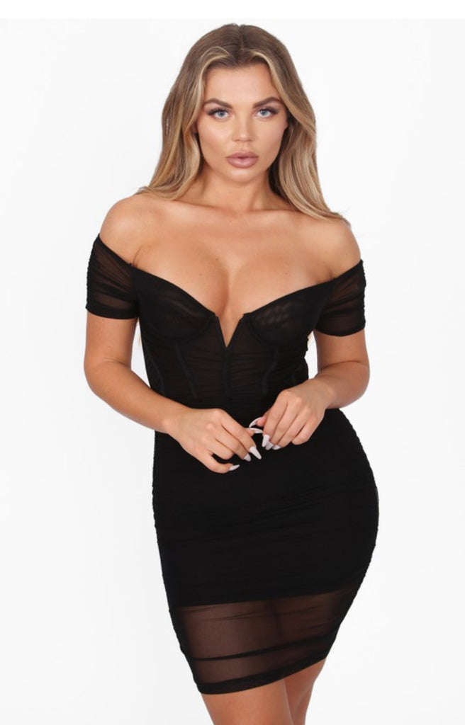 Neesha Dress - Black