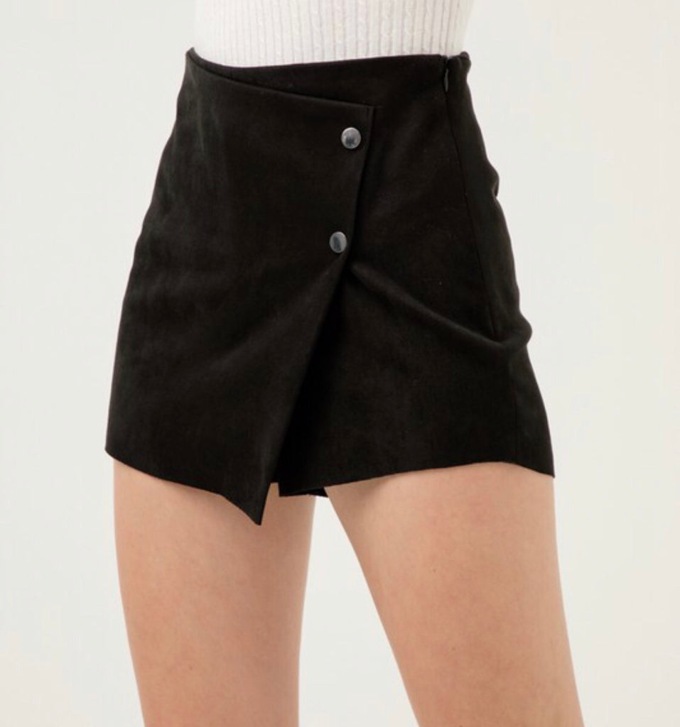 Best Of Me Skort - Black