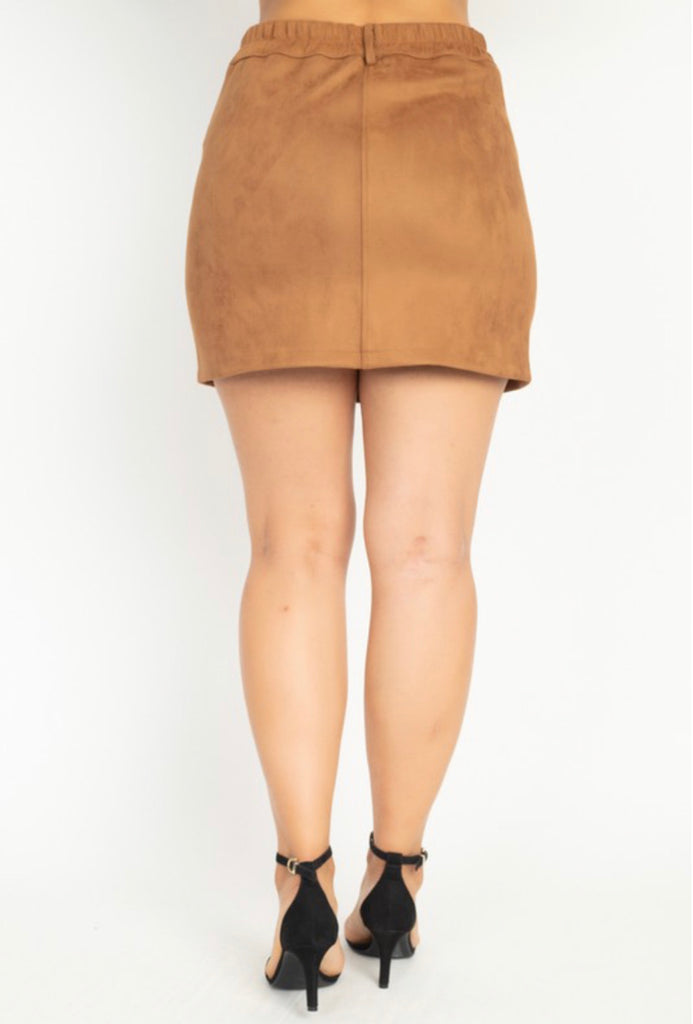 Season Must Have Skirt - Camel