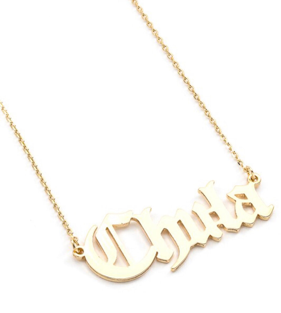 Chula Necklace - Gold