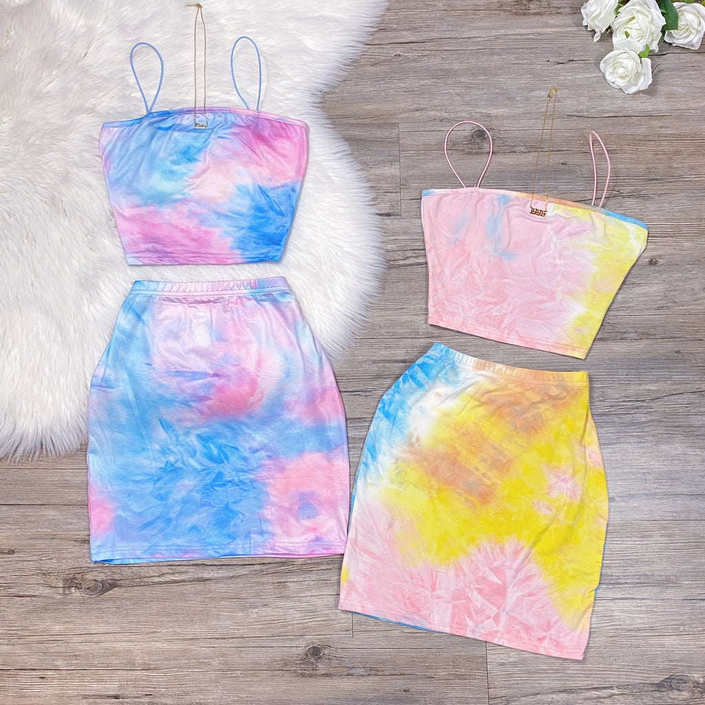 Sweet Lover Set - Pink/Yellow/Blue